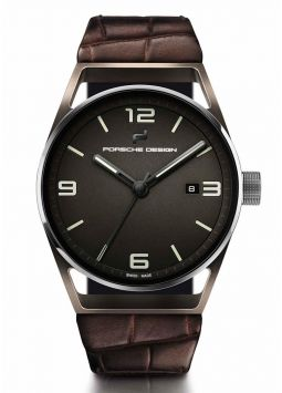 Porsche Design 1919 Datetimer Eternity Brown Alligator 6020.3.03.004.07.2