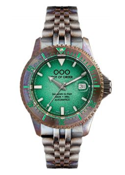 Out Of Order Swiss Automatico Green OOO.001.20.VE