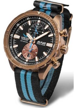 Vostok Europe Almaz Space Station Bronze 6S11/320O266N