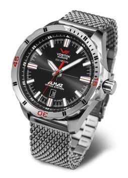 Vostok Europe Almaz Space Station Steel NH35/320A258B