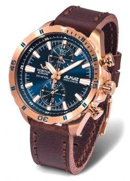 Vostok Europe Almaz Space Station Steel Chrono 6S11/320B262