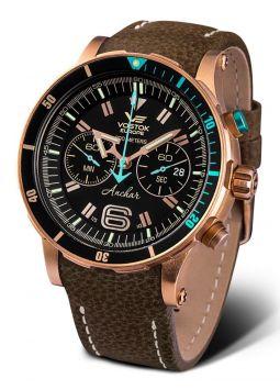 Vostok Europe Anchar Chronograph Bronze 6S21-510O585
